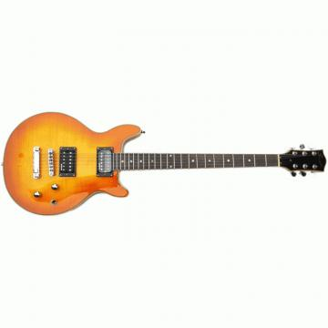 The Top Guitars Brand SPR 21 Sunburst Design Electric Guitar