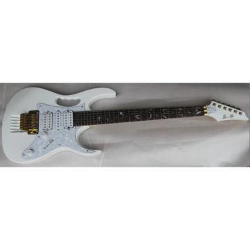 Super SZ 7V White Electric Guitar