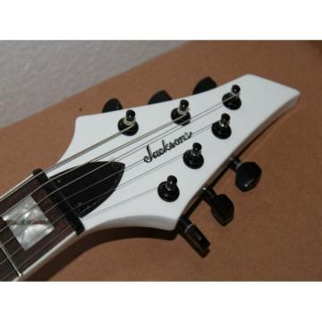 USA Custom Shop Jackson Soloist Alpine White Electric Guitar