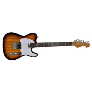 Super STL 11 Natural Wood Design Electric Guitar