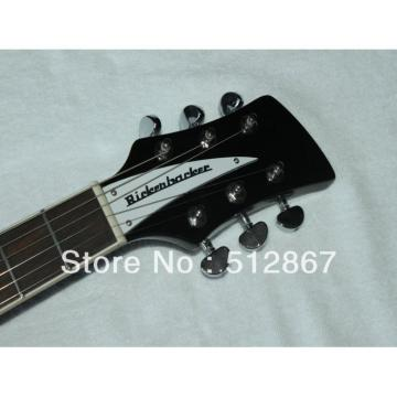 Rickenbacker Custom 381 Model Black Electric Guitar