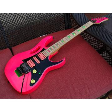 Project Custom Pink Ibanez Jem 6 String Electric Guitar