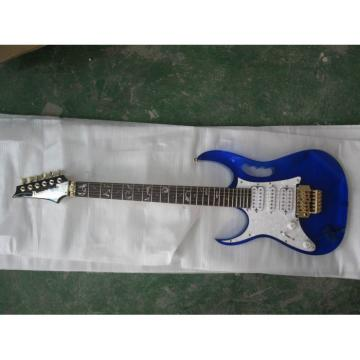Plexiglas Lucite Blue Acrylic Glass Ibanez Electric Guitar