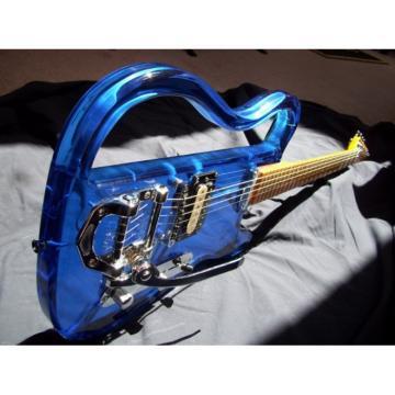 Phantom Blue Tremolo Logical Electric Guitar