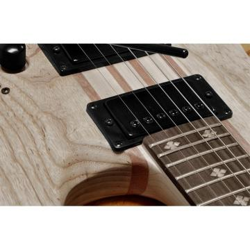 One Piece Electric Guitar Gecko GE803 24 Frets Wooden Design 2 Humbucker Pickup