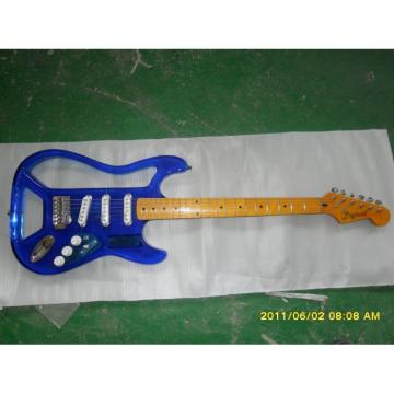 Logical Acrylic Blue Electric Guitar