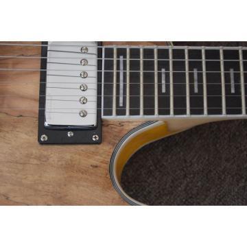 Languedoc Electric Guitar Mahogany Body Plaster Veneer Top