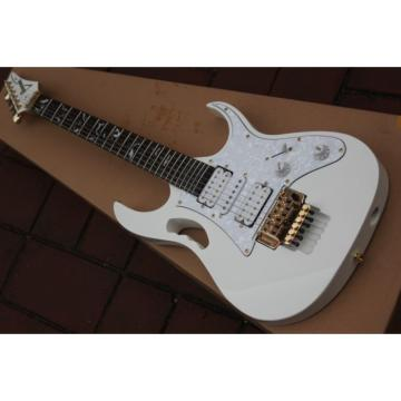 Jem 7v Steve Vai White Floyd Rose Style Electric Guitar