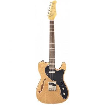 Jay Turser LT-CUSTOMDLX Series Electric Guitar Natural