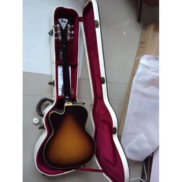 Kay Flame Maple Top Sunburst Electric Guitar