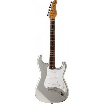 Jay Turser 300 Series Electric Guitar Chrome Silver