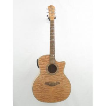 Hohner Grand Auditorium Model ACcoutic Electric Cutaway Guitar