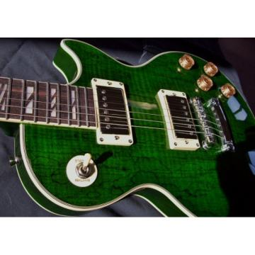 Green Jimmy Logical Electric Guitar