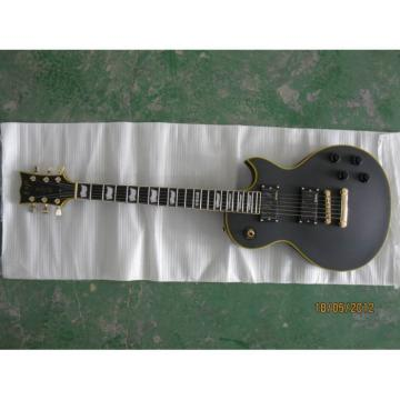 ESP Matt Finish Black Custom Electric Guitar