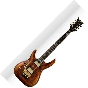 DBZ BARFMLHFR TGE Barchetta Tiger Eye FR Lefty Electric Guitar W/Floyd