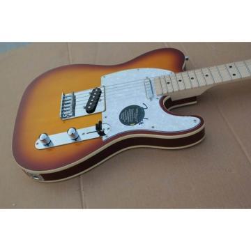 Custom Telecester 6 String Sunset Sunburst Electric Guitar