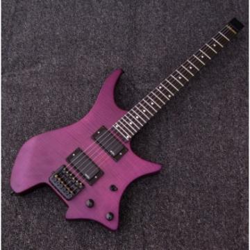 Custom Strandberg Boden 6 String Purple Color Headless Electric Guitar