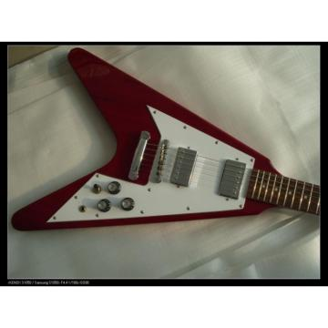 Custom Tokai Red Flying V Electric Guitar