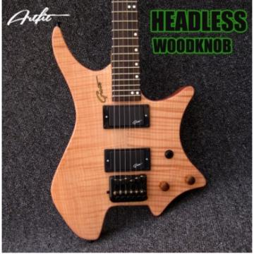 Custom Strandberg Boden 6 String Natural Color Headless Electric Guitar