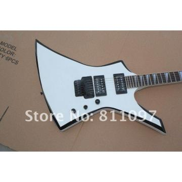 Custom Shop White Jackson Strange Electric Guitar