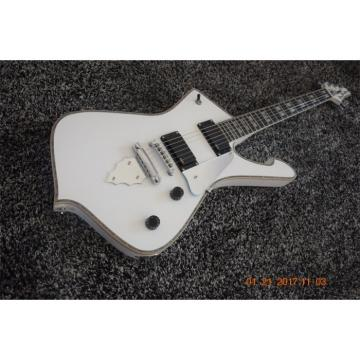 Custom Shop White Iceman Ibanez 6 String Electric Guitar