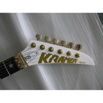 Custom Shop White Star Kramer Electric Guitar