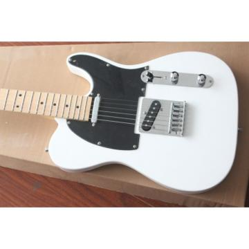 Custom Shop White Fender Telecaster Electric Guitar