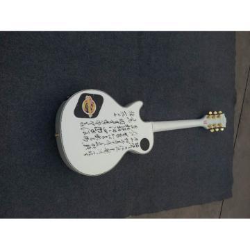 Custom Shop White Personalized Standard Electric Guitar