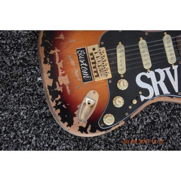 Custom Shop Vintage Fender Stevie Ray Vaughan SRV Relic Aged Electric Guitar