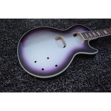 Custom Shop Unfinished Silverburst Gray Top Electric Guitar
