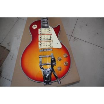 Custom Shop Tremolo Ace Frehley LP Sunburst Electric Guitar