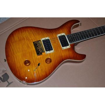 Custom Shop Tobacco Burst Bird Inlay PRS Electric Guitar
