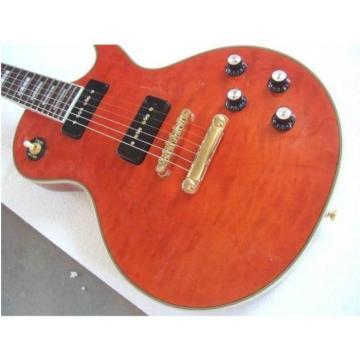 Custom Shop Tiger Maple Top Orange Electric Guitar