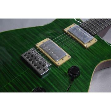 Custom Shop Tiger Green Maple Top PRS Private Stock Electric Guitar