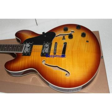 Custom Shop Sunburst ES335 LP Electric Guitar