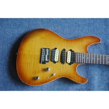 Custom Shop Suhr Sunburst Pro Series Electric Guitar