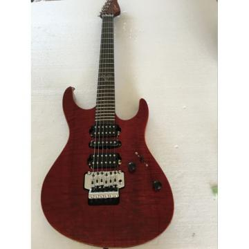 Custom Shop Suhr Red Burgundy Maple Top Electric Guitar Floyd Rose