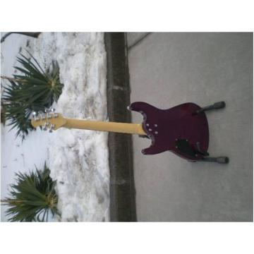 Custom Shop Suhr Quilt Maple Top Transparent Natural Fade Purple Electric Guitar