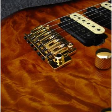 Custom Shop Suhr Brown Maple Top 6 String Electric Guitar