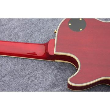 Custom Shop Standard Tiger Maple Top Red Wine Electric Guitar