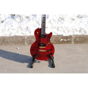 Custom Shop Standard Flame Maple Top Red Electric Guitar