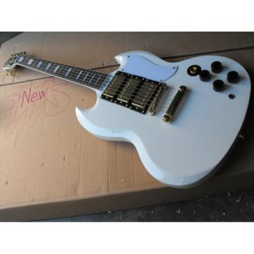 Custom Shop SG White Electric Guitar
