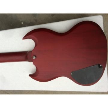 Custom Shop SG Burgundy Matte Electric Guitar