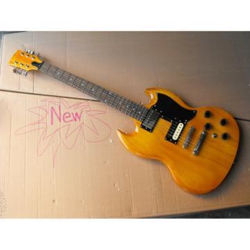 Custom Shop SG Natural Electric Guitar