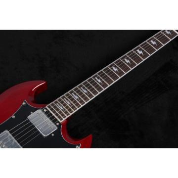Custom Shop SG Angus Young Cherry Dark Red Electric Guitar