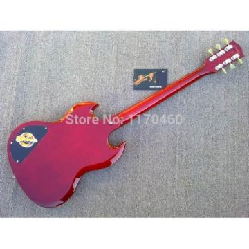Custom Shop SG Angus Heritage Cherry Standard 4 String Electric Guitar