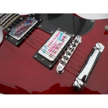 Custom Shop SG Angus Young Warm Red Electric Guitar