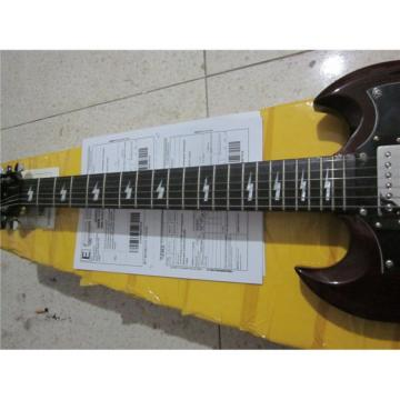 Custom Shop SG G400 Dark Brown Electric Guitar