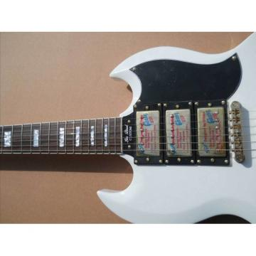 Custom Shop SG Custom Reissue VOS Electric Guitar Arctic White