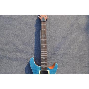 Custom Shop SE 22 Standard PRS Whale Blue Flame Top Electric Guitar